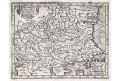 Balkán , Mercator -Hondius, mědiryt, (1620)