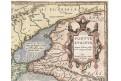 Ortelius A. : Pontus Euxinus , mědiryt, 1595