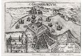 Kronborg, Lasor a Varea, mědiryt, 1713
