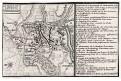 Lovosice  bitva, mědiryt, 1765