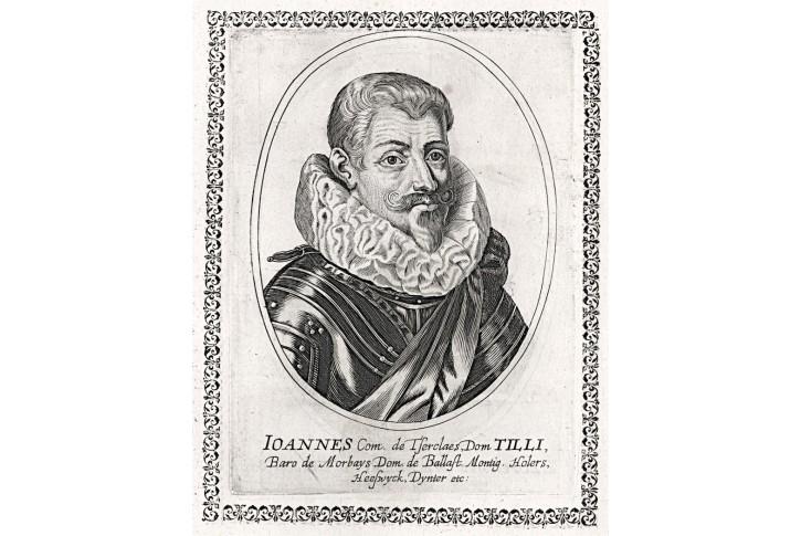 Tilly., mědiryt, (1650)