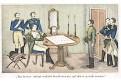 Statečný voják neztrácí pozice, litografie, (1840)