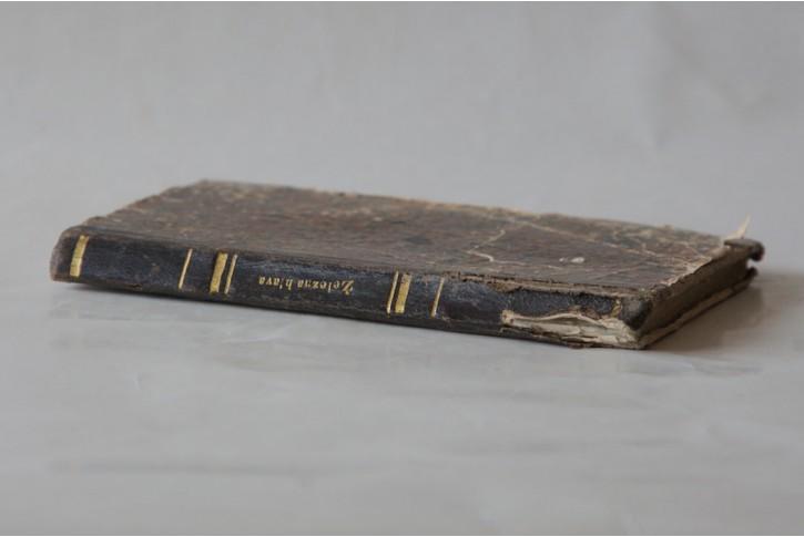 Hoffmann A. F. F.:  Železná hlava,  Praha, 1857