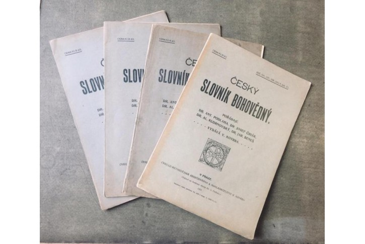 Český slovník bohovědný, díl 5., sešity 2,3,4,5