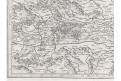 Mercator - Hondius, Stiria, mědiryt, 1623