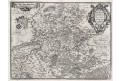 Ortelius A. : Leodiensis, mědiryt, 1603