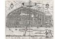 Orleans, Braun Hogenberg, mědiryt (1600)