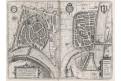 Grenoble Romans-sur-Isère, Braun, mědiryt (1590)