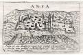 Anfa, Lasor a Varea, mědiryt, 1713