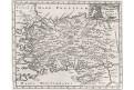 Cluver Ph. : Chersonesi Natolia , mědiryt, 1711