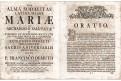 ORATIO DE MEMORIA ...SODALIUM,  Praha, (1760)