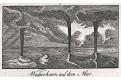 Tornado vodní, mědiryt, (1820)