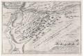Leuze-en-Hainaut,, N. de Fer, mědiryt, 1705