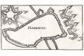 Hagenau, mědiryt, 18. stol.