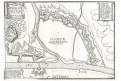 Namur, N. de Fer, mědiryt, 1705
