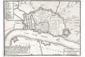 Antwerpen,, N. de Fer, mědiryt, 1705