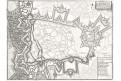 Cambrai,, N. de Fer, mědiryt, 1705