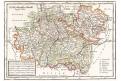 Germany South West, Moll, kolor. mědiryt, 1717