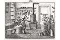 Klempíř, litografie, 1832