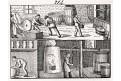 Ocet výroba, litografie, 1832