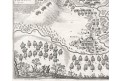 Přísečnice bitva, Merian, mědiryt 1650
