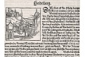 Heidelberg, S. Münster, dřevořez, (1580)