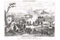 Slavkov Napoleonův tábor, mědiryt, 1836