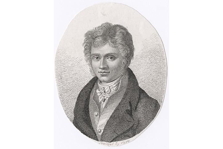 Estrup H.F.J.,  mědiryt ,1814
