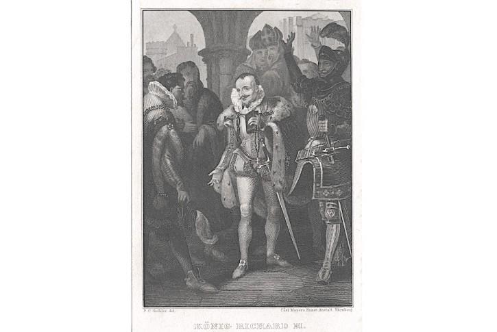 Richard III. , oceloryt, (1850)