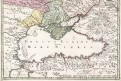 Russiae Magnae, Homann, mědiryt, 1720