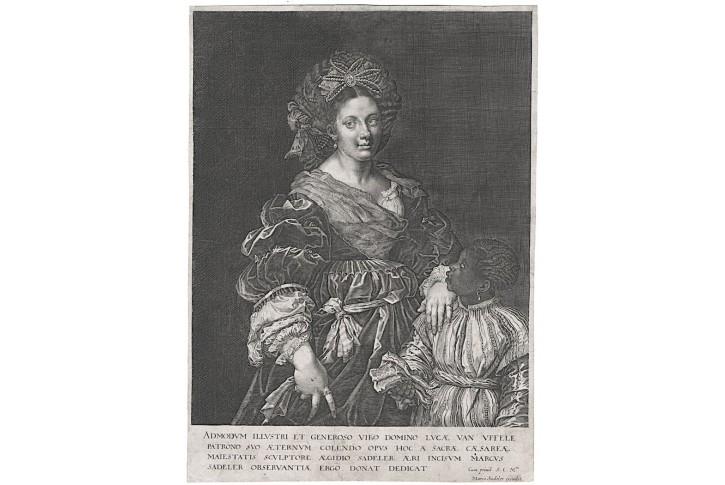 Sadeler Aeg., Laura de Dianti, mědiryt, (1620)