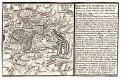 Praha Žižkov obléhání1757, Beaurain, mědiryt, 1765