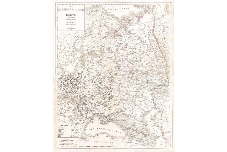 Russische Reich, Stein, kolor. litografie, 1836
