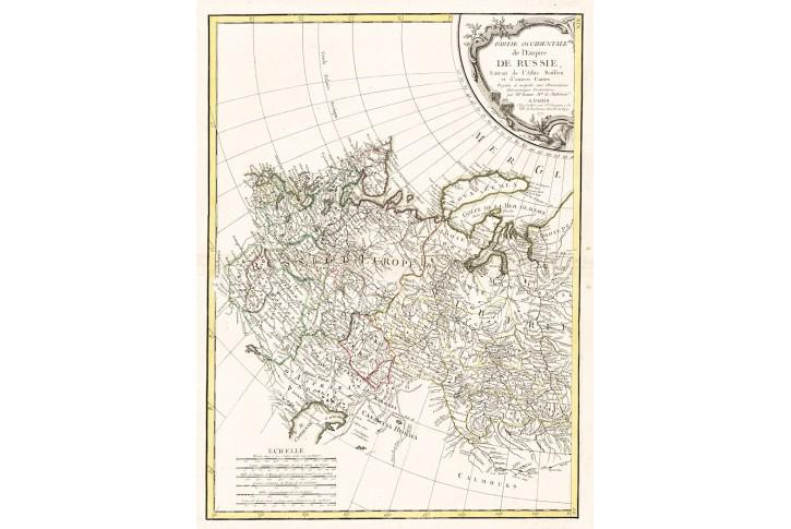 Bonne M.: Russie, mědiryt, 1771