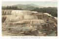 Yellowstone vodopád, chromolitografie, (1890)