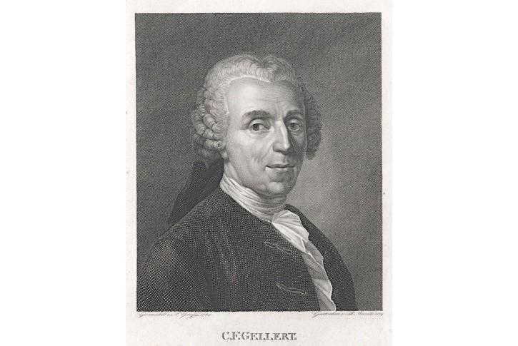 Gellert C. F., Steinla,  mědiryt , 1819