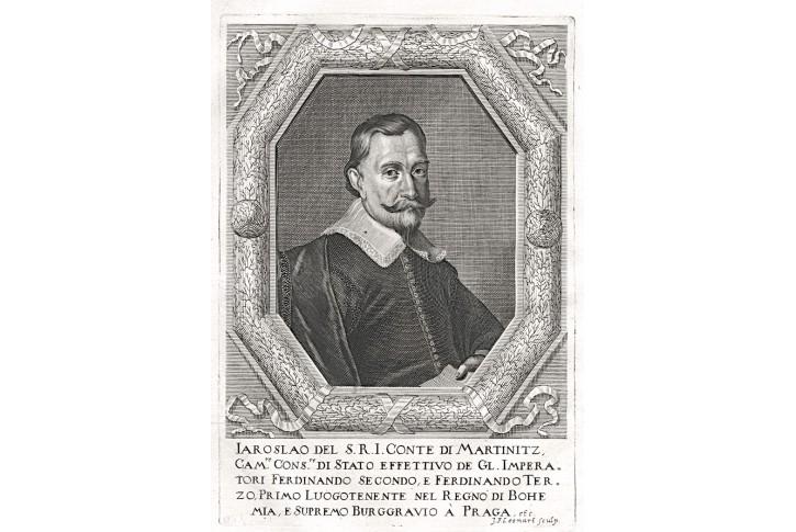 Martinic, Prioratus, mědiryt, 1672