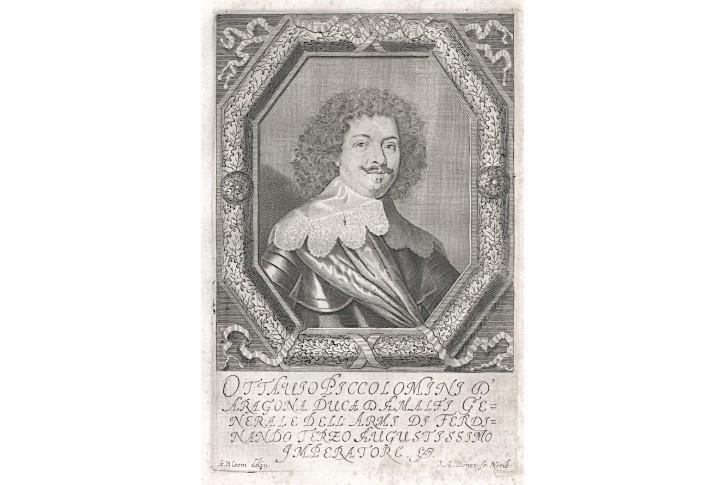 Piccolomini, Prioratus, mědiryt, 1672
