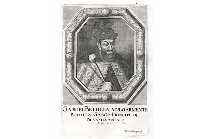 Bethlem,  Prioratus, mědiryt, 1672