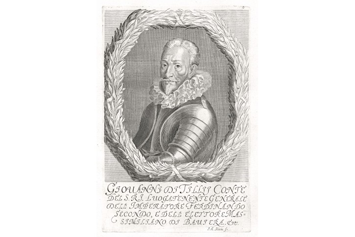 Tilly,  Prioratus, mědiryt, 1672