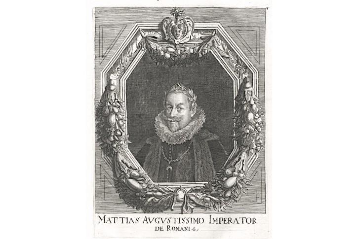 Matyáš Habsburský, Prioratus, mědiryt, 1672