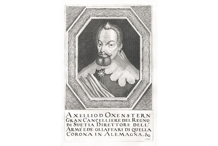 Oxenstern, Prioratus, mědiryt, 1672