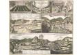 Homann dědic..: Karlovy Vary, kolor. mědiryt, 1733