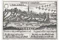 Znojmo, Meissner, mědiryt, 1678