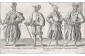 Germani kroje, Bruyn, mědiryt, 1581.