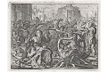 Vraždění neviňátek, mědiryt, 17. stol