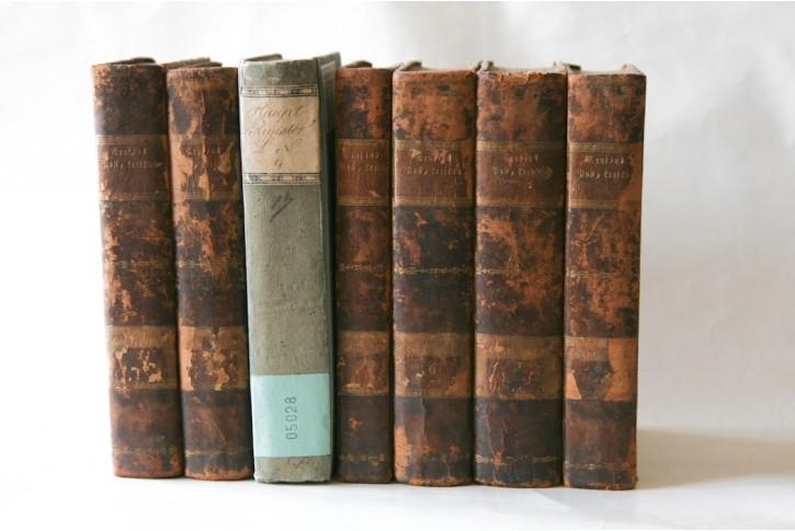 Crusius Ch.: Register Post Lexikon 7sv.,1805-11