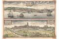 Helsingör - Ribe, Braun Hogenberg, mědiryt 1596