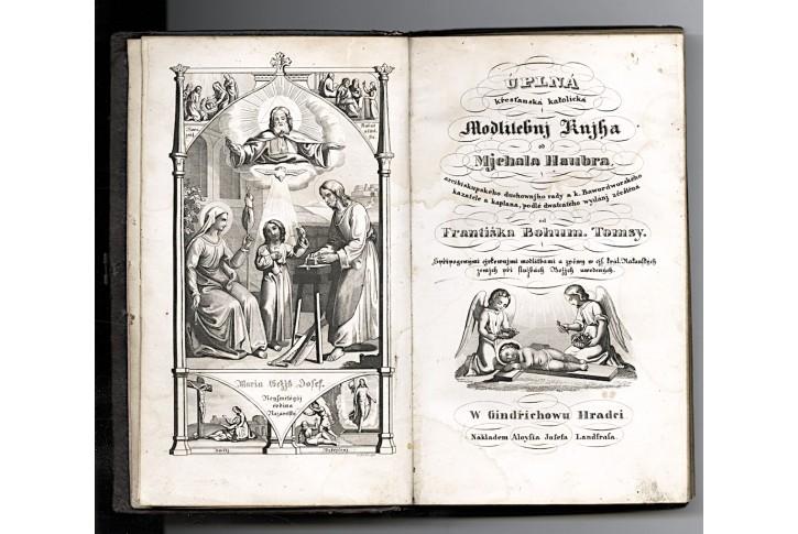 M.Haubr, Úplná křes.katol.modlitebnj knjha, 1849
