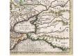 Mercator - Hondius, Taurica, mědiryt, 1636